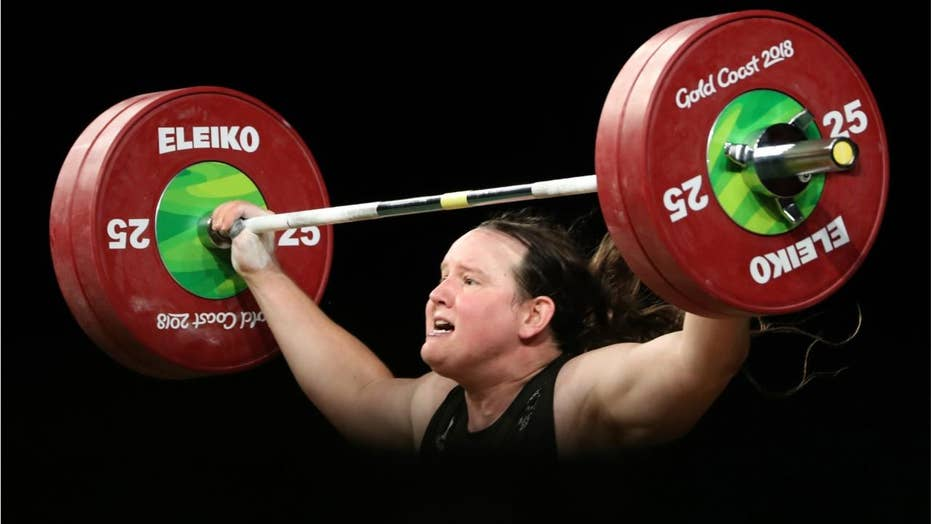 Transgender weightlifter's gold medal sparks new debate