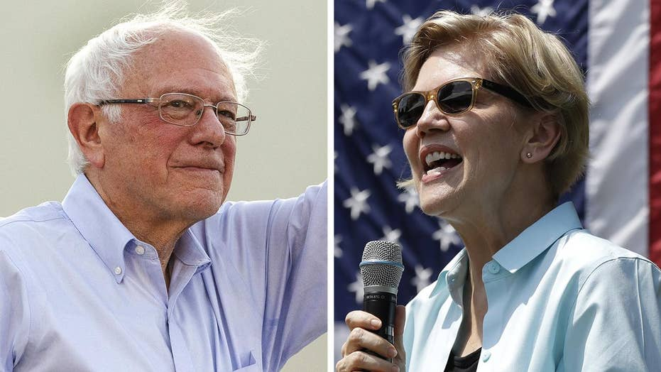 Sanders, Warren to compete for far-left vote on Michigan debate stage