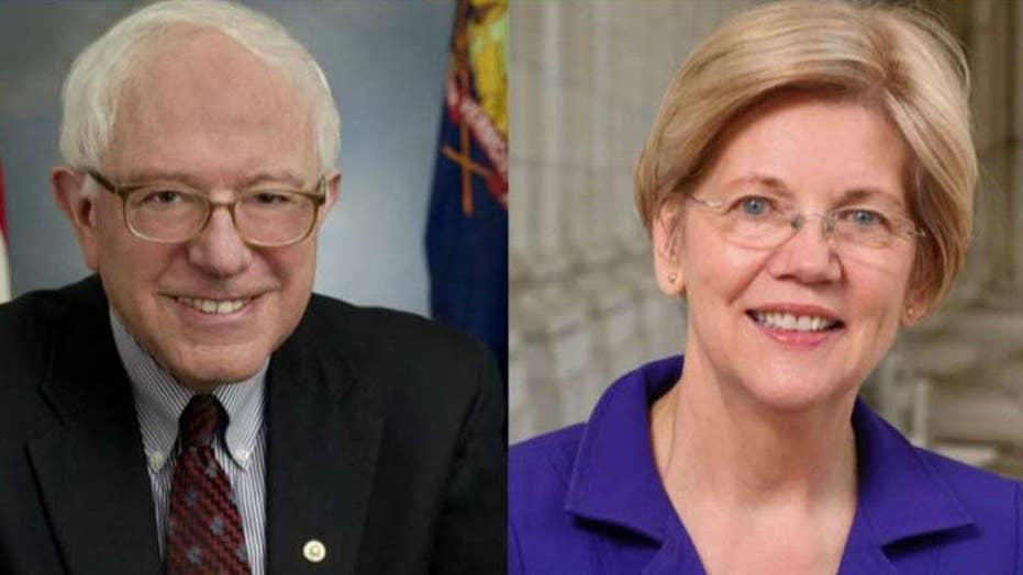 Senators Sanders, Warren take center stage at first night of second round of presidential debates