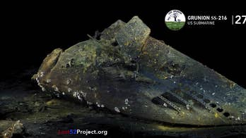 WWII US submarine discovered off Alaska continues 鈥楲ost 52 Project's鈥� mission of honoring sailors