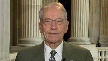 Sen. Chuck Grassley: Coronavirus-damaged businesses providing over half of US jobs deserve tax break