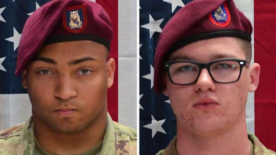Army names two paratroopers killed in Afghanistan