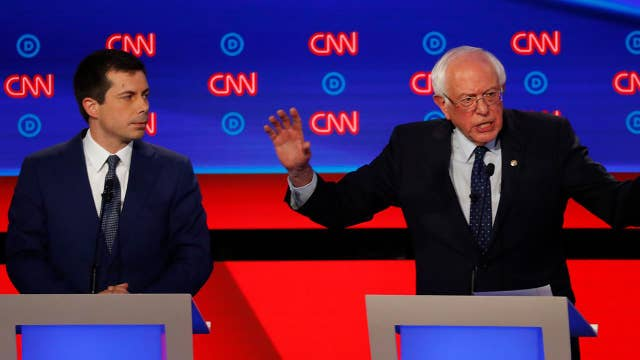 Democrats speak on climate change creating jobs during second round of debates