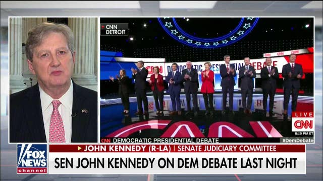 Sen. Kennedy skeptical about moderates at Dem debate: 'The lesser of two socialists is still a socialist'