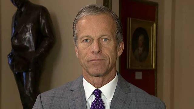 Sen. Thune whipping up votes for massive spending bill backed by White House