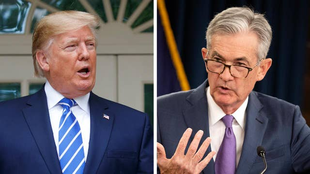 President Trump says 'Powell let us down' after modest rate cut