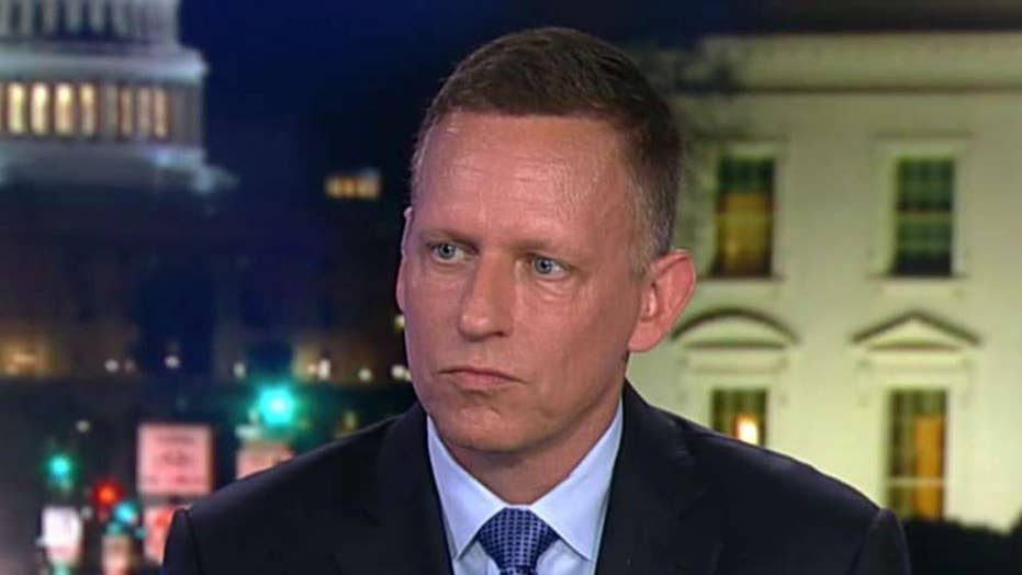 Peter Thiel calls for top universities to lose non-profit status