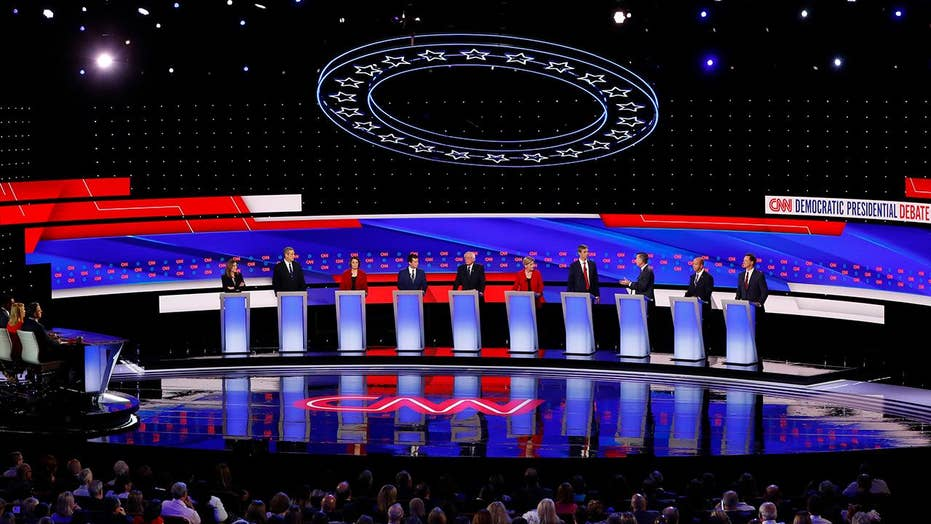 Voters grade 2020 Democrats on their performance during night one, round two of debates