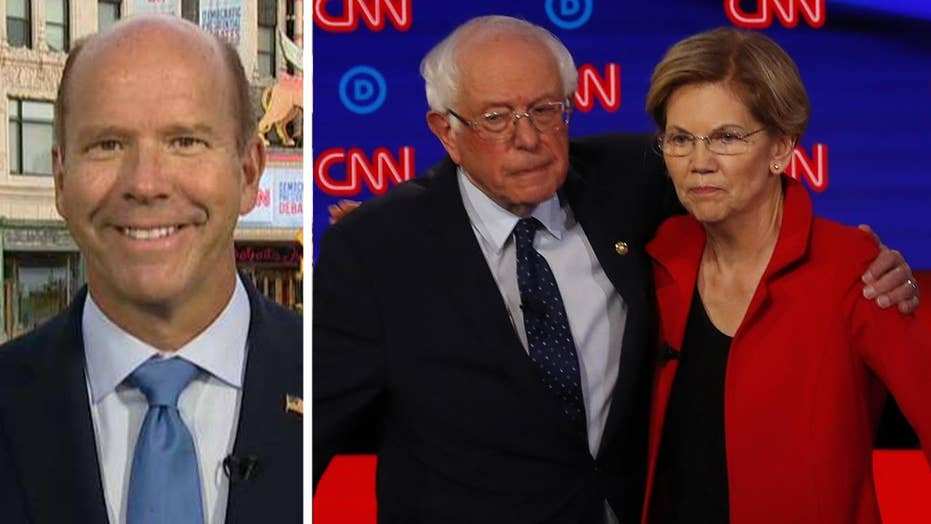 John Delaney takes shots at Elizabeth Warren, Bernie Sanders during round two of the 2020 Democratic debates