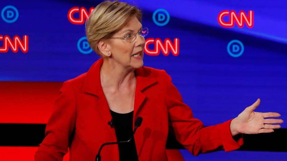 2020 hopeful Sen. Elizabeth Warren labels white supremacy as 'domestic terrorism'