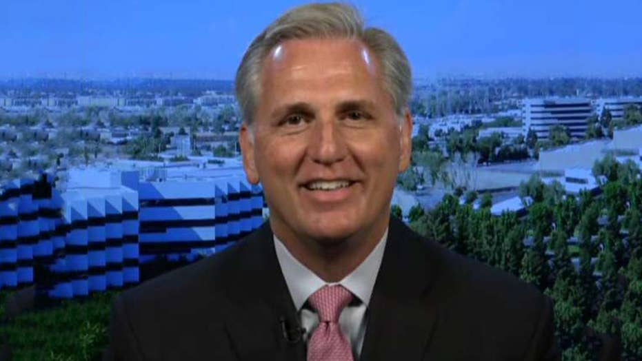 Rep. Kevin McCarthy says Democrats want to 'have impeachment without saying the word'
