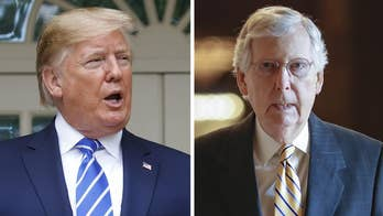 President Trump, Mitch McConnell rally support for Senate budget deal
