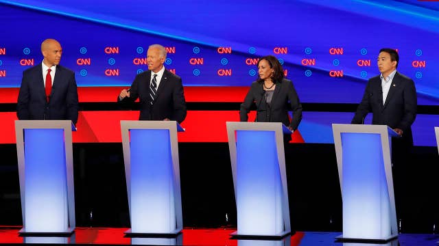 Democrats express anti-coal rhetoric at debate night two in Detroit