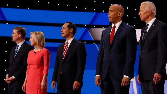 How did voters react to night two of the second Democratic presidential debate?