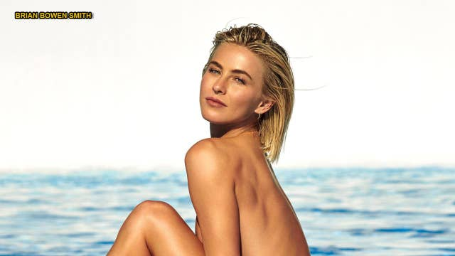 Julianne Hough poses nude, reveals she's 'not straight'