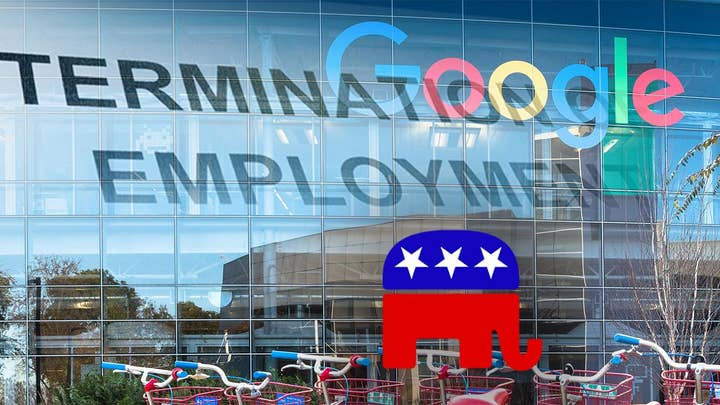 Republican engineer fired by Google slams tech giant over alleged 'bullying' of conservatives