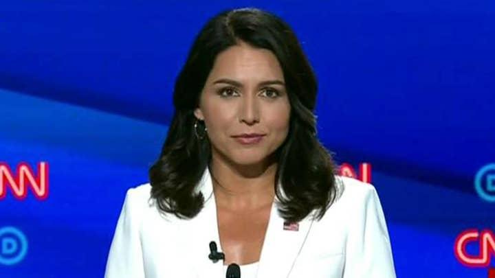 Greg Gutfeld says Tulsi Gabbard 'Kamala-ed Kamala' at the Democratic presidential debate