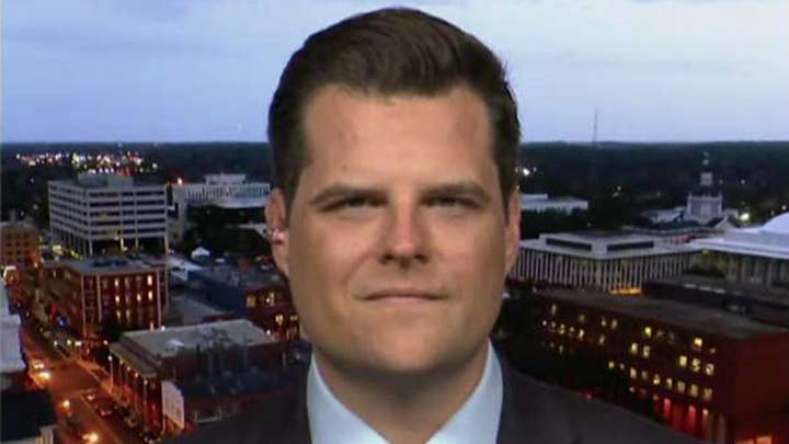 Gaetz: I'm confident Barr with get to the bottom of leaked FBI memos