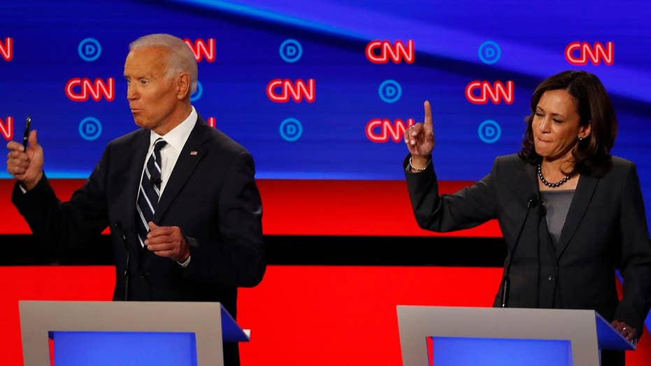 Biden and Harris come under fire from fellow 2020 candidates during presidential debate