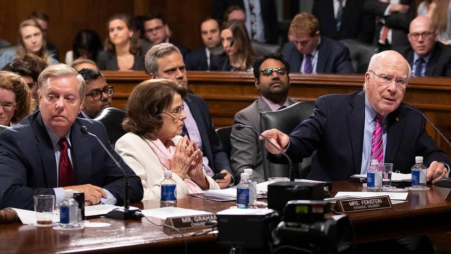 Sens. Graham, Leahy clash at Senate Judiciary Committee meeting