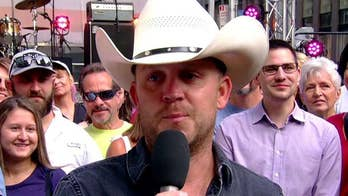 Justin Moore discusses his musical tribute to the men and women serving our nation