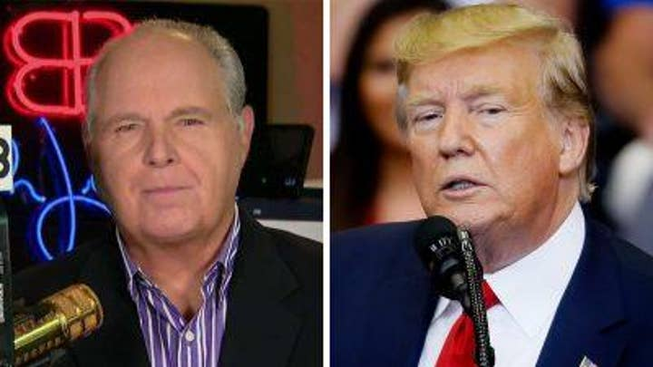 Rush Limbaugh on Donald Trump's 'bond' with supporters