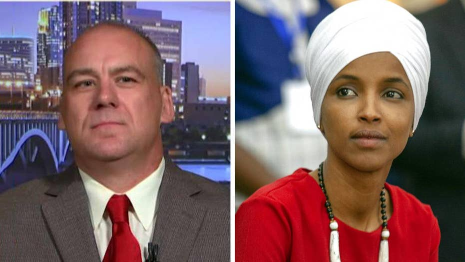 US Army and police department veteran challenges Rep. Ilhan Omar for her seat in Congress