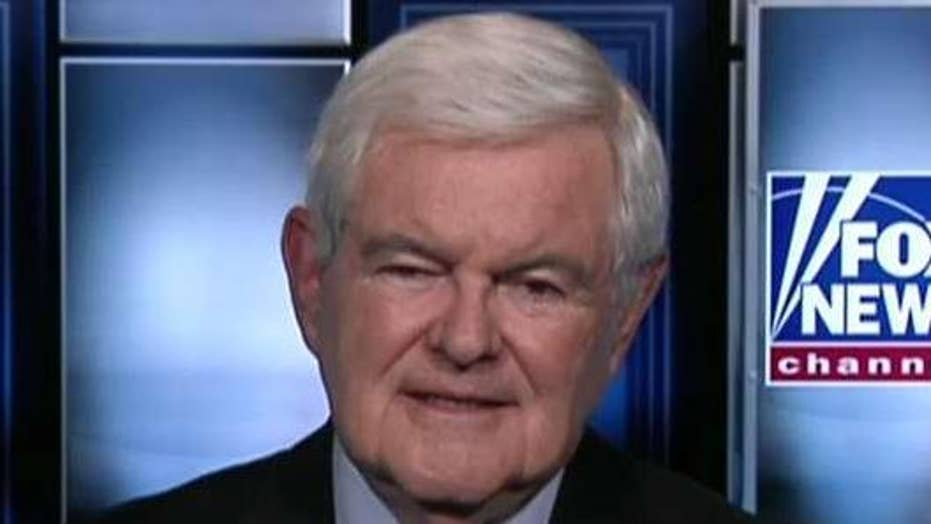 Newt Gingrich amazed by 'level of anger' exhibited by Democratic presidential candidates
