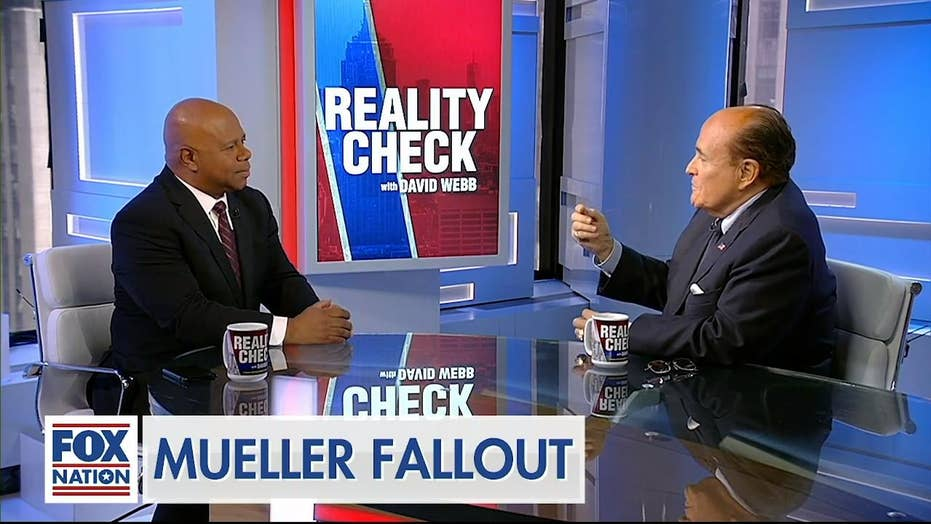 Former NYC Mayor Rudy Giuliani joined David Webb to discuss their takeaways from the Mueller hearing.