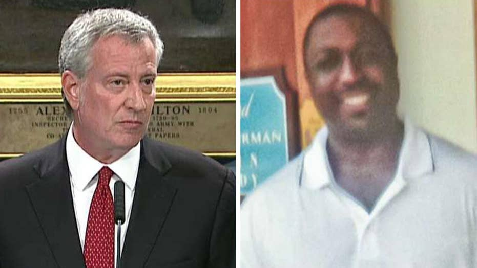 Mayor Bill de Blasio hopes judge's recommendation on Officer Pantaleo brings Eric Garner's family some closure