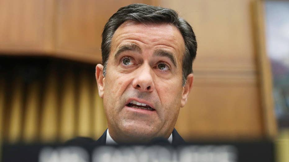President Trump says John Ratcliffe withdraws from consideration for DNI, will remain in Congress
