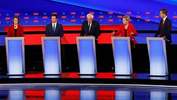 2020 Democratic presidential candidates fight for big union endorsement