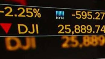 Stocks tumble on China trade tensions