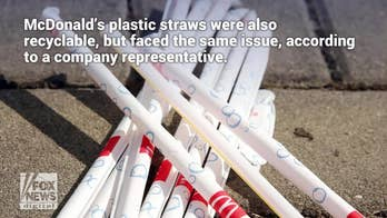 McDonald's new paper straws expose problems with U.K. recycling operations