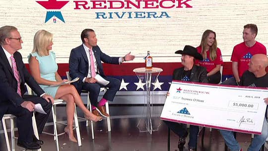 Country star John Rich surprises Folds of Honor scholarship recipient