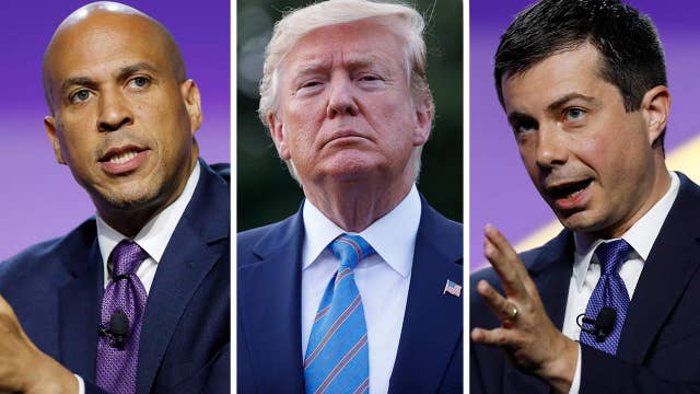 2020 Democrats blasted on social media for linking Trump to El Paso shooting