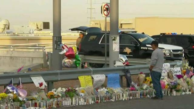 Memorial grows outside El Paso Walmart after mass shooting