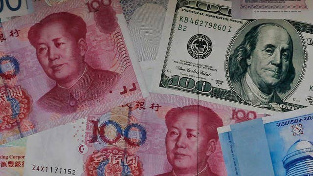 Trump accuses China of 'currency manipulation'