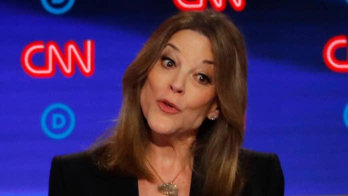 Marianne Williamson defends hiring ex-Sanders staffer accused of forcibly kissing subordinate