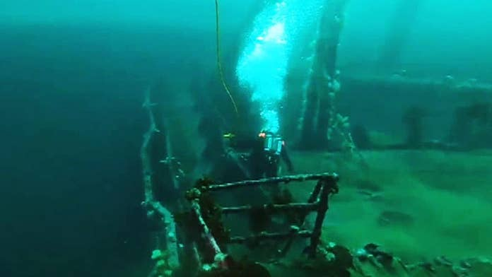 Canadian military recovers, detonates, unexploded munitions from WW II shipwrecks