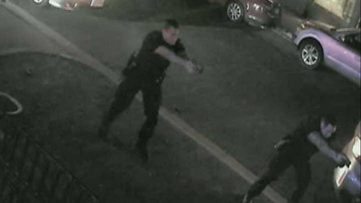 Police released surveillance video of Ohio shooting