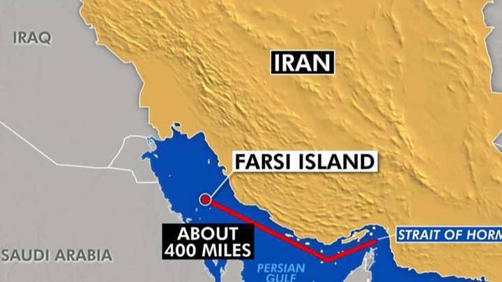 Iran seizes oil tanker near Farsi Island in the Persian Gulf