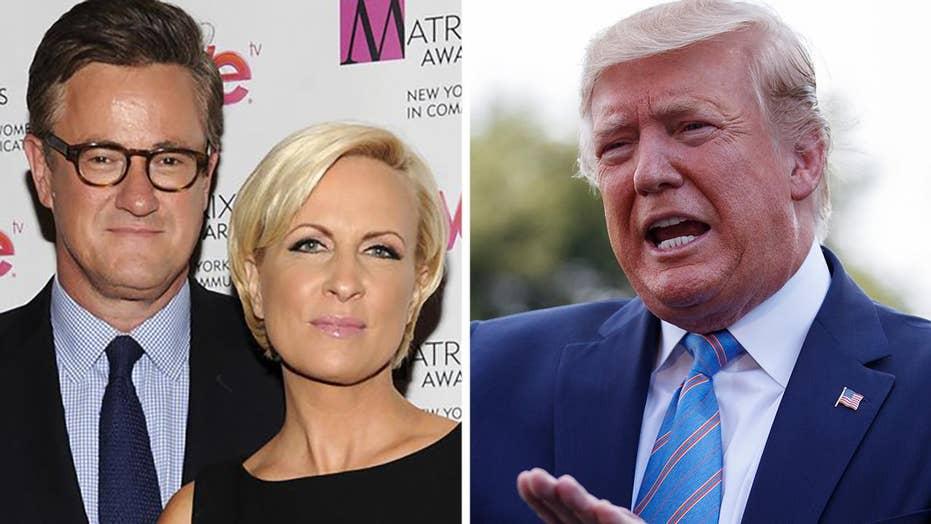 Trump rips Joe and Mika