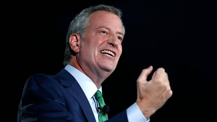Presidential candidate Bill de Blasio to join 'Hannity' on Wednesday