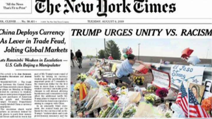 New York Times amends Trump headline on shootings after catching heat from left