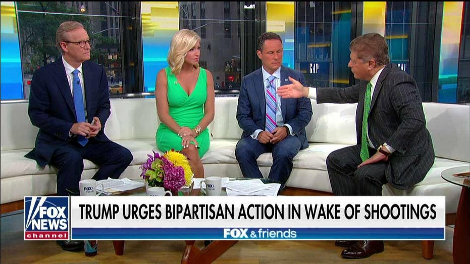 Judge Napolitano: Would proposed 'red flag' gun laws be constitutional?