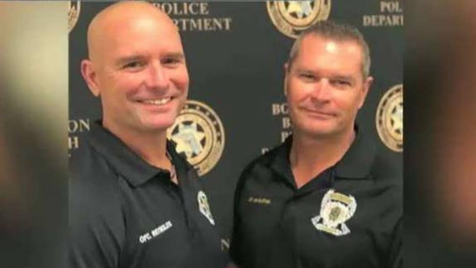 Florida police officers discover they're half-brothers through DNA test