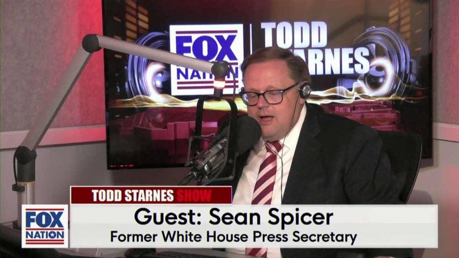 Todd Starnes and Sean Spicer