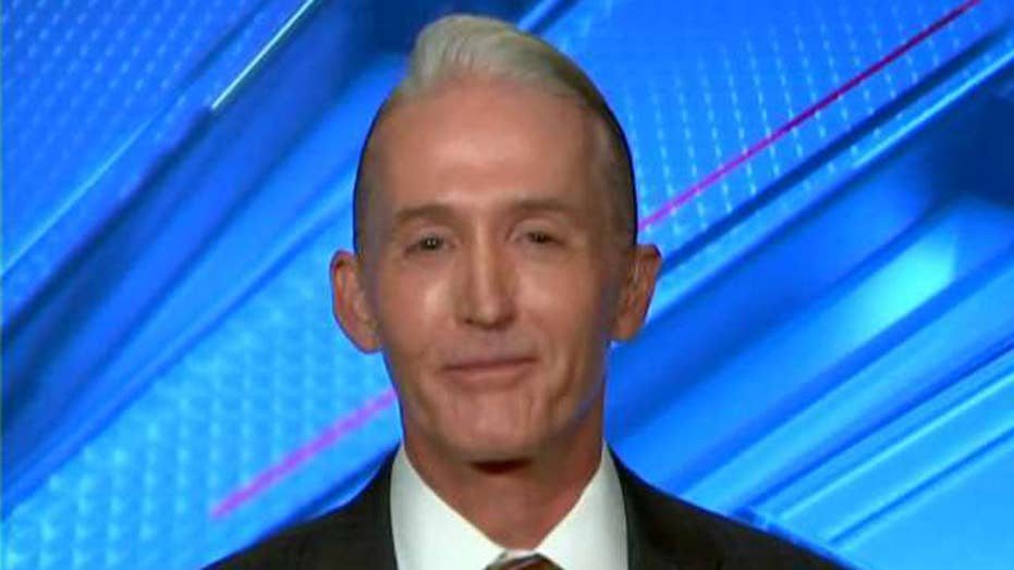 Gowdy: Mueller was the one who fired Strzok