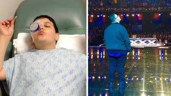 'AGT' contestant born with blinding disease says gift of sight allows him 'to see such incredible things'